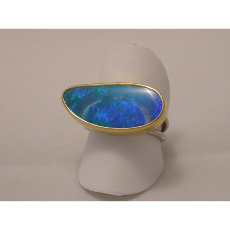 Gold & Silver with Opal
